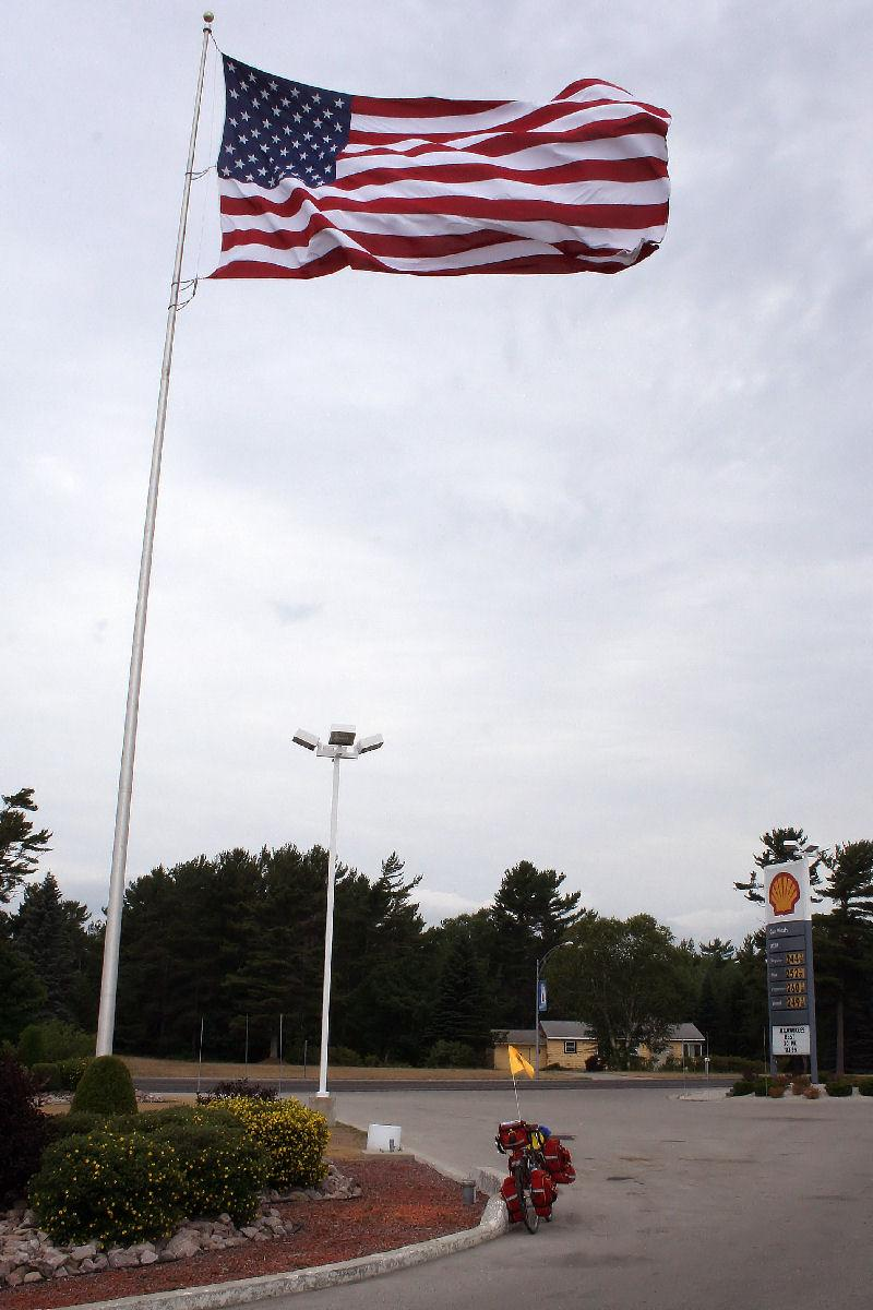 Gas station Flag